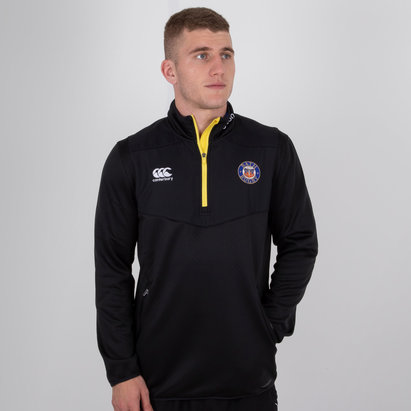 Canterbury Bath 2018/19 Players 1/4 Zip Rugby Training Top