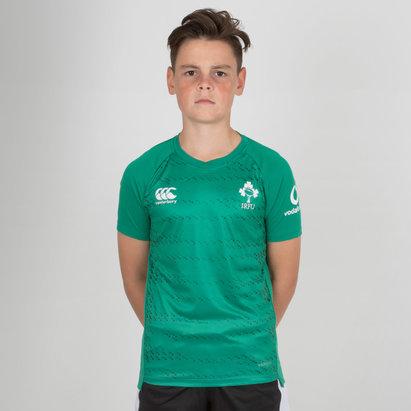 Canterbury Ireland IRFU 2018/19 Kids Superlight Rugby Training T-Shirt