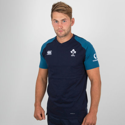 Canterbury Ireland IRFU 2018/19 Performance Cotton Rugby T-Shirt