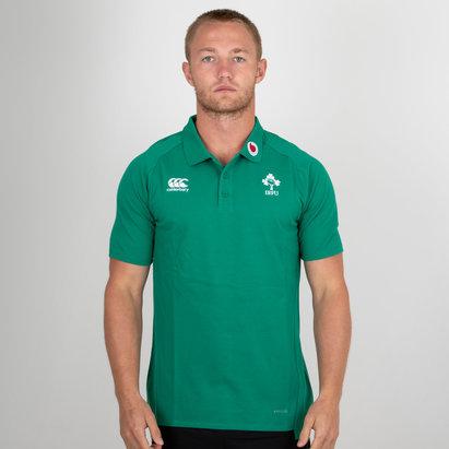 Canterbury Ireland IRFU 2018/19 Performance Cotton Rugby Polo Shirt