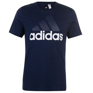 adidas Essential Logo T Shirt Mens