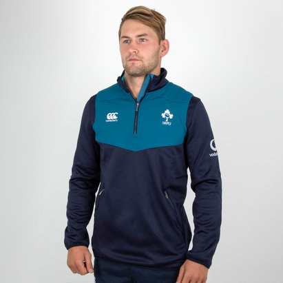 Canterbury Ireland IRFU 2018/19 Players 1/4 Zip Rugby Training Top