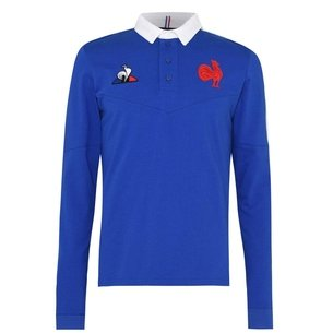 Le Coq Sportif France 20/21 Home L/S Classic Shirt Mens