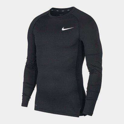Nike Pro Core Long Sleeve T Shirt Mens