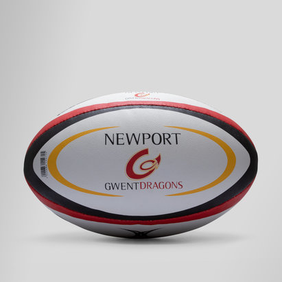 Gilbert Newport Gwent Dragons Official Replica Rugby Ball