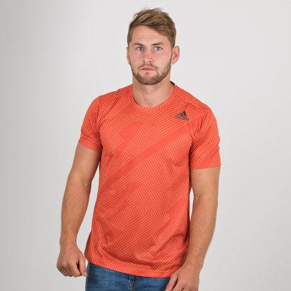 adidas Free Lift Short Sleeve Gym T Shirt Mens