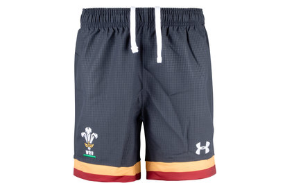 Under Armour Wales WRU 2016/17 Alternate Kids Supporters Shorts