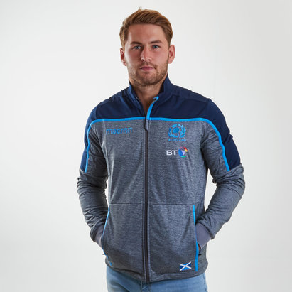 Macron Scotland 2018/19 Players Anthem Rugby Jacket