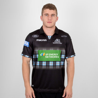 Macron Glasgow Warriors 2018/19 Home S/S Replica Rugby Shirt