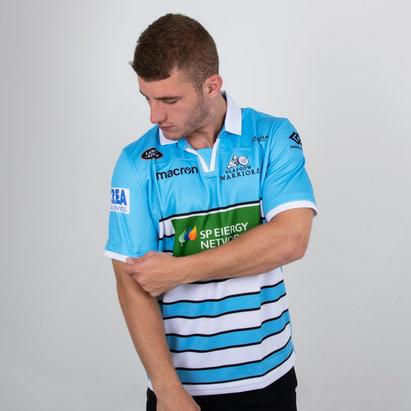 Macron Glasgow Warriors 2018/19 Alternate S/S Replica Shirt