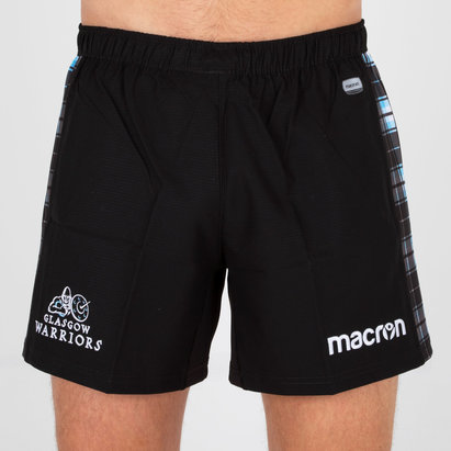 Macron Glasgow Warriors 2018/19 Players Home Rugby Shorts