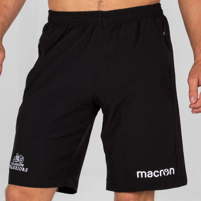 Macron Glasgow Warriors 2018/19 Players Training Gym Bermuda Shorts