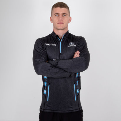 Macron Glasgow Warriors 2018/19 Players 1/4 Zip Training Top