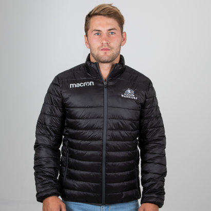 Macron Glasgow Warriors 2018/19 Players Travel Bomber Jacket