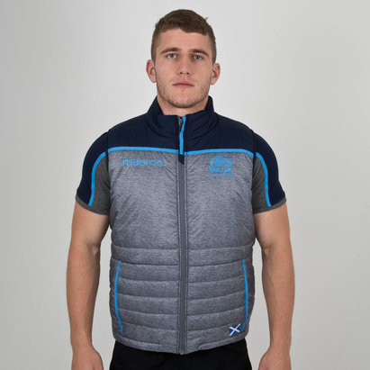 Macron Scotland 2018/19 Players Padded Rugby Gilet