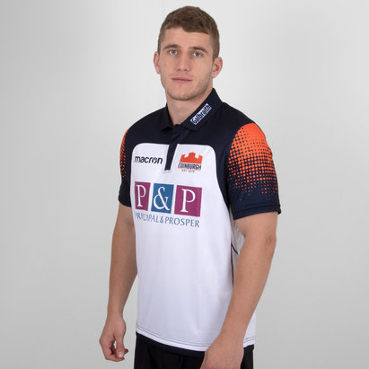 Macron Edinburgh 2018/19 Alternate Replica Rugby Shirt
