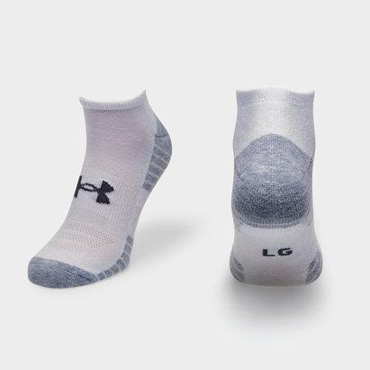 Under Armour HeatGear Tech No Show Socks 3 Pack