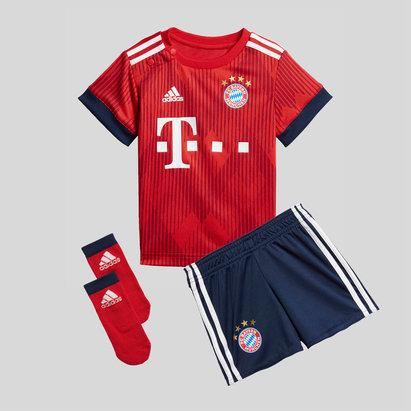 adidas Bayern Munich 18/19 Home Infant Replica Football Kit