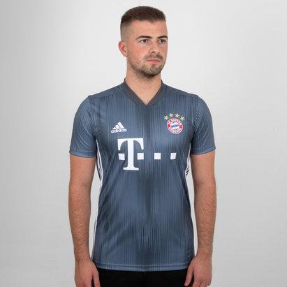 adidas Bayern Munich 18/19 3rd S/S Football Shirt