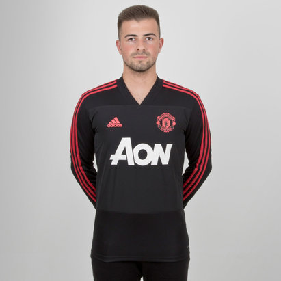 adidas Manchester United 18/19 L/S Football Training Top