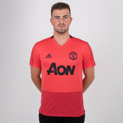 adidas Manchester United 18/19 S/S Football Training Shirt