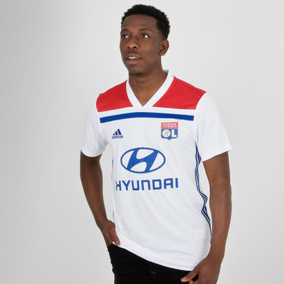 adidas Olympique Lyon 18/19 Home S/S Replica Football Shirt