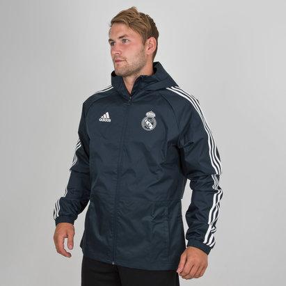 adidas Real Madrid 18/19 Football Rain Jacket