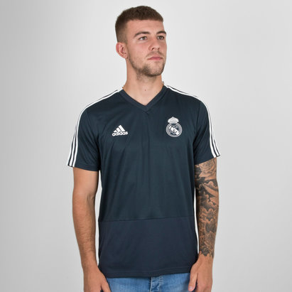 adidas Real Madrid Training Jersey Mens