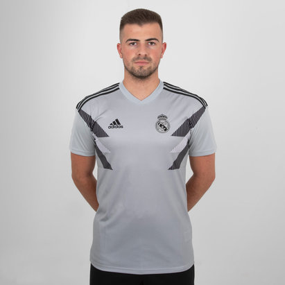 adidas Real Madrid 18/19 Pre-Match Football Training Shirt