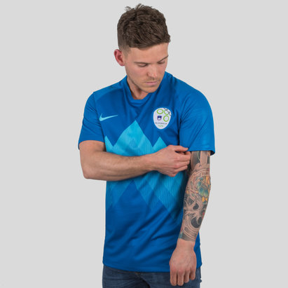 Nike Slovenia 2018 Away S/S Stadium Football Shirt