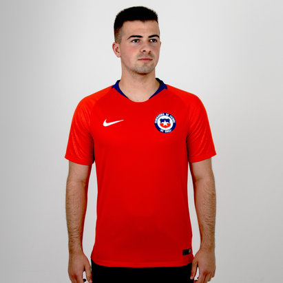 Nike Chile 2018 Home S/S Stadium Football Shirt