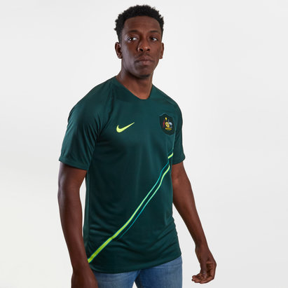 Nike Australia 2018 Away S/S Stadium Football Shirt