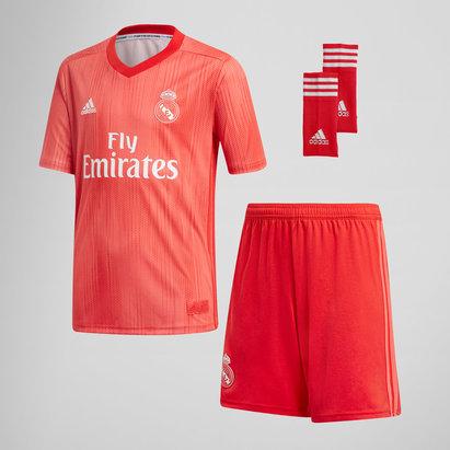adidas Real Madrid 18/19 3rd Kids Replica Football Kit