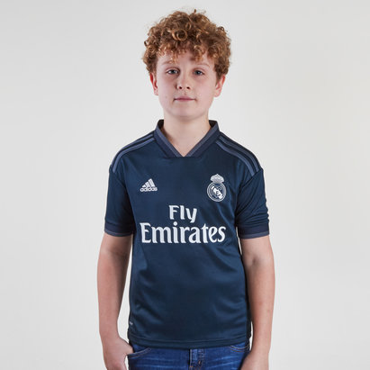 adidas Real Madrid 18/19 Away Kids Replica Football Shirt