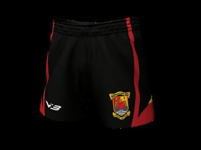 VX3 Carmarthen Quins RFC Replica Junior Playing Shorts