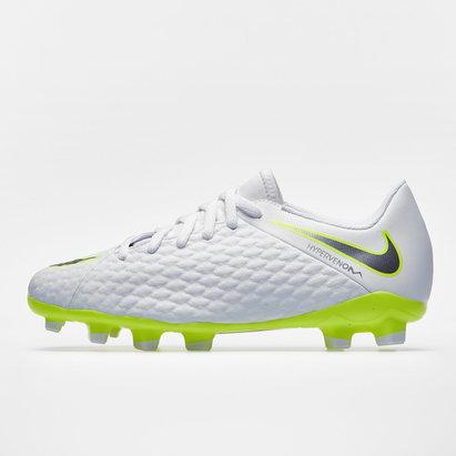 factory price 86d89 89507 Nike Hypervenom Phantom III Kids Academy FG Football Boots
