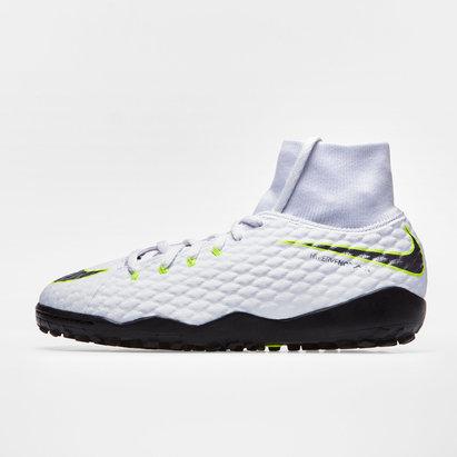 Nike Hypervenom PhantomX III Academy Kids D-Fit TF Football Trainers