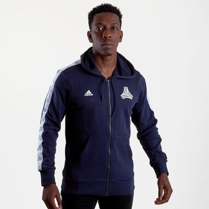 adidas Tango Full Zip Hooded Football Sweat