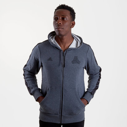 adidas Tango Full Zip Football Hooded Sweat
