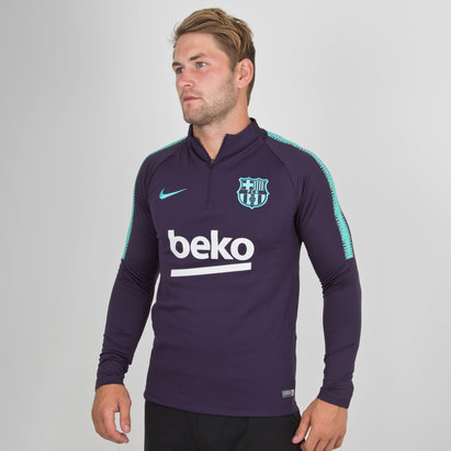 Nike FC Barcelona 18/19 Dry Squad Football Training Top