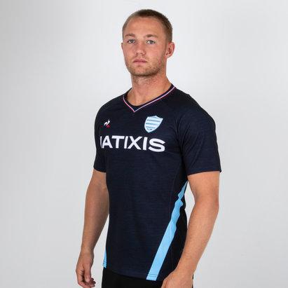 Le Coq Sportif Racing 92 2018/19 3rd S/S Replica Rugby Shirt