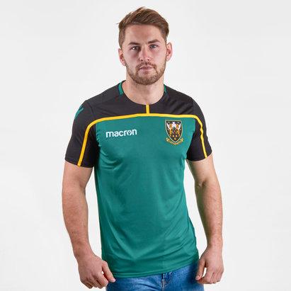 Macron Northampton Saints 2018/19 Players Rugby Training T-Shirt