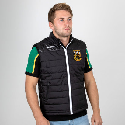 Macron Northampton Saints 2018/19 Players Match Day Gilet