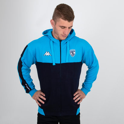 Kappa Montpellier 2018/19 Hooded Rugby Jacket