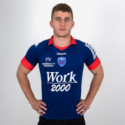 Kappa FC Grenoble 2018/19 Home S/S Replica Rugby Shirt