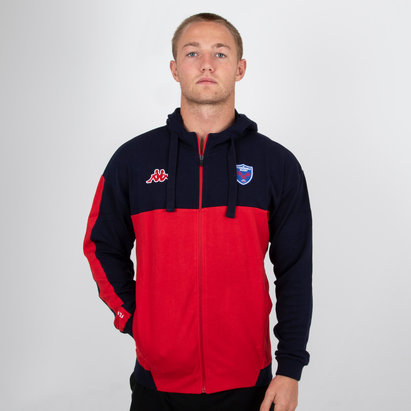 Kappa FC Grenoble 2018/19 Franca Hooded Rugby Jacket