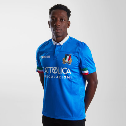 Macron Italy 2018/19 Home Replica Shirt