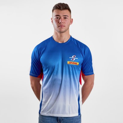 Genuine Connection Promotions Stormers 2018 Super Rugby Players Warm Up T-Shirt