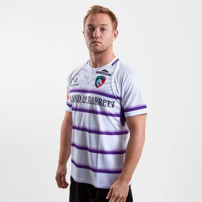Kukri Leicester Tigers 2018/19 Alternate S/S Replica Rugby Shirt