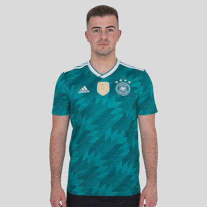 adidas Germany 2018 Away S/S Replica Football Shirt